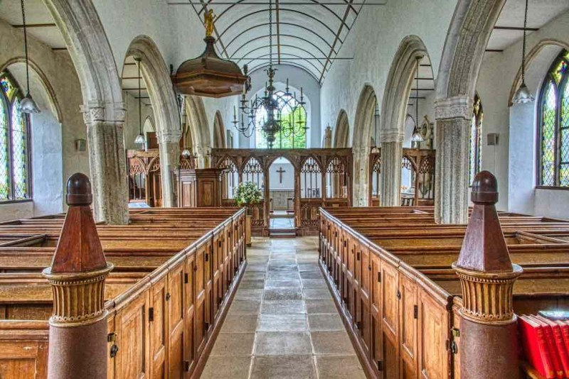 Cornworthy Church of St Peter South Devon