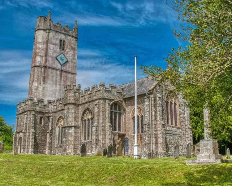 Manaton Church of St Winifred, Mid Devon