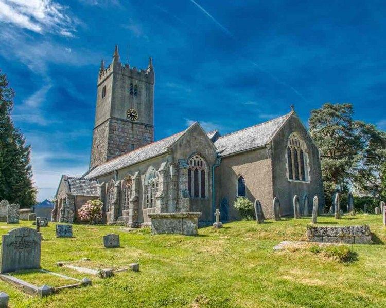 North Bovey Church of St John the Baptist South Devon