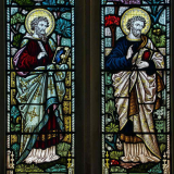 Stained-Glass-Evangelists-Victorian-19th-Century-Rackenford