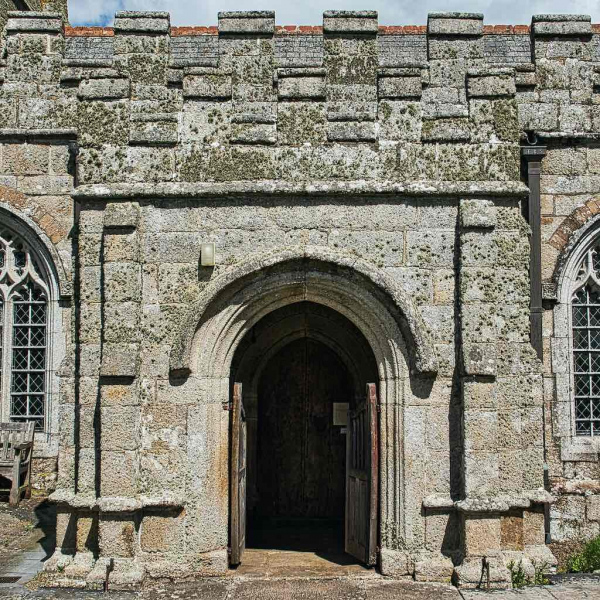 Sampford Courtenay Church of St Andrew, Mid Devon