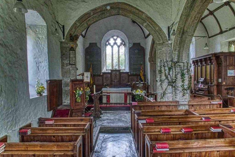 Thrushelton Church of St George, West Devon
