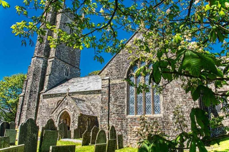 Woolfardisworthy Church of All Hallows North Devon