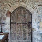 Braunton Church Medieval Porch Door