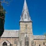 Braunton Church Medieval Tower Spire
