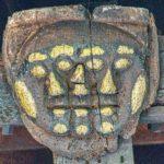 Medieval Roofboss Tripple Head Braunton