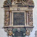 Monument Stone 17th Century Baunton