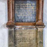 Monument Wood 17th Century Baunton