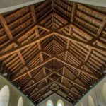 Scissor Braced Truss Roof Virginstowe Church Devon