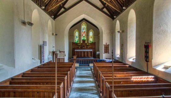 Virginstowe Church Nave East View Devo