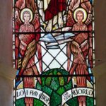 Virginstowe Church Stained Glass Angels Seraphim