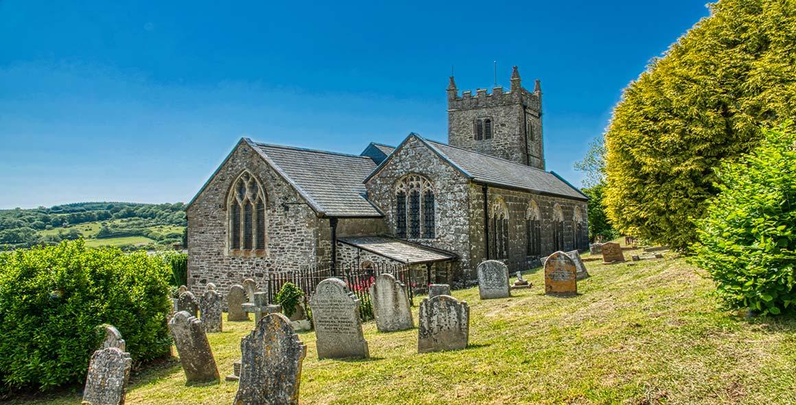 Bridford Church Teign Valley