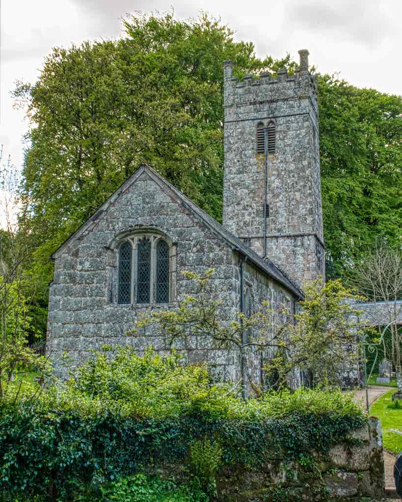 Beautiful Gidleigh Church, a Dartmoor church born from the bones of the moor,