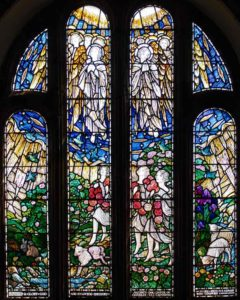 Heaven Stained Glass 20th Century Thurleston