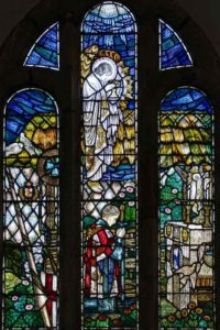Sir Galahad Woodland Chapel Stained Glass 20th Century Thurleston