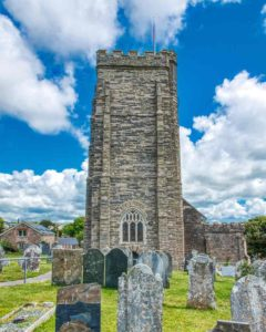 Thurleston Church Exterior Tower Medieval Devon