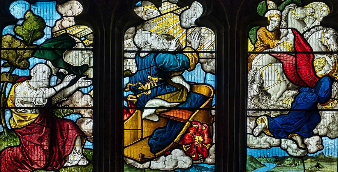 Victorian Stained Glass Elijah Sampford Peverell