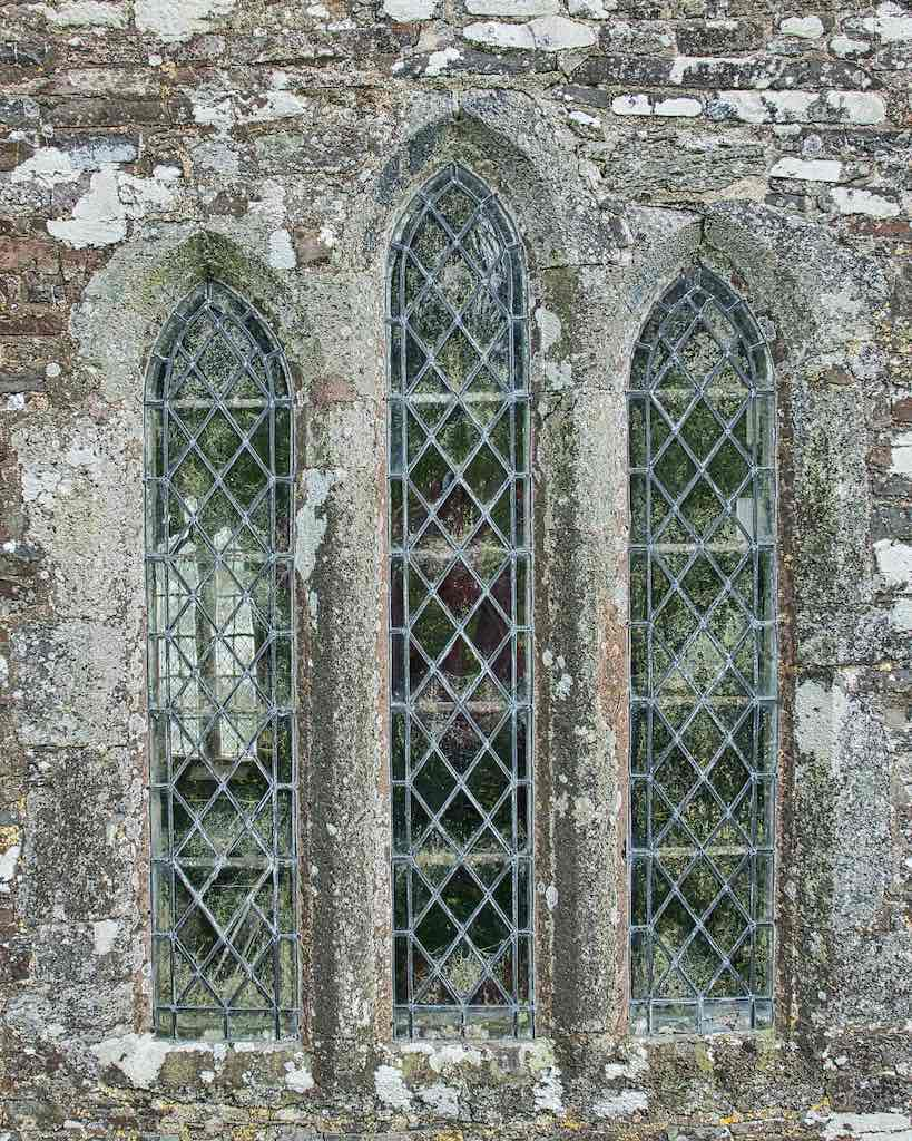 Window 13th Century Carved Stone Plain Broadwoodwidger