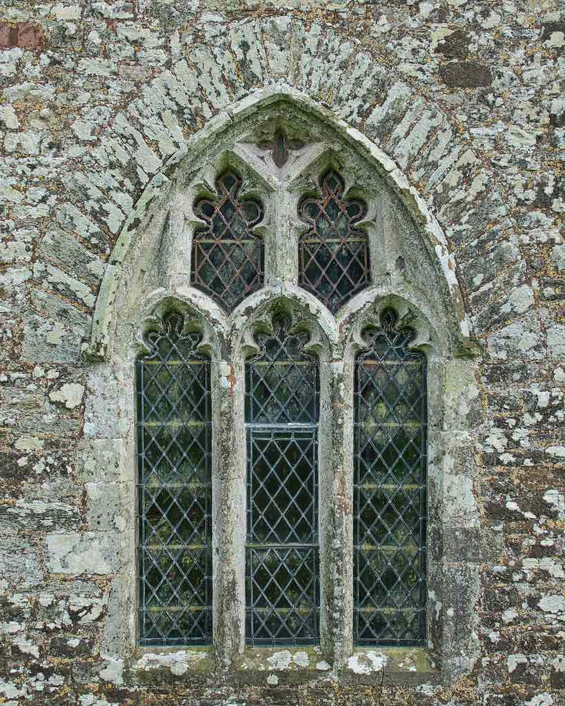 Window 14th Century Carved Stone Plain Broadwoodwidger