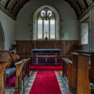 Chancel Altar East Window Medieval Dalwood