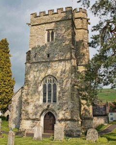Church Exterior East Devon Medieval 15th Century Stone Tower Churchyard Dalwood
