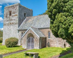 Church Exterior Medieval Mid Devonl Loxbeare