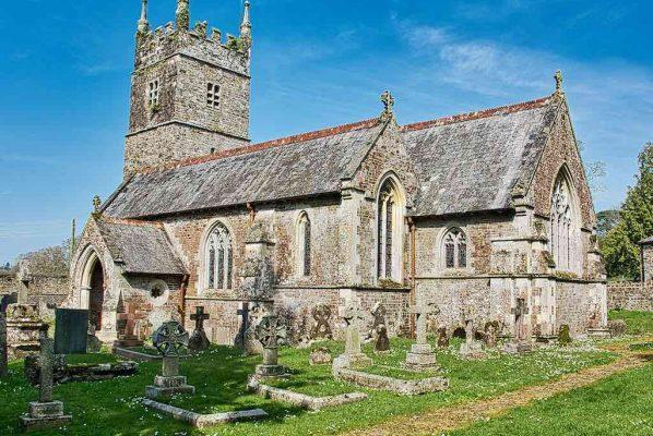 Church Exterior Victorian 19th Century GEStreet Neogothic Middevon Huish