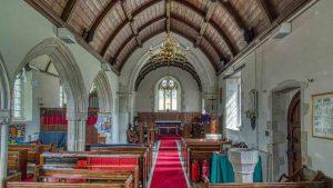 Church Interior 15th Century Medieval Dalwood
