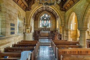 Church Interior Victorian GEStreet Ham Stone Huish