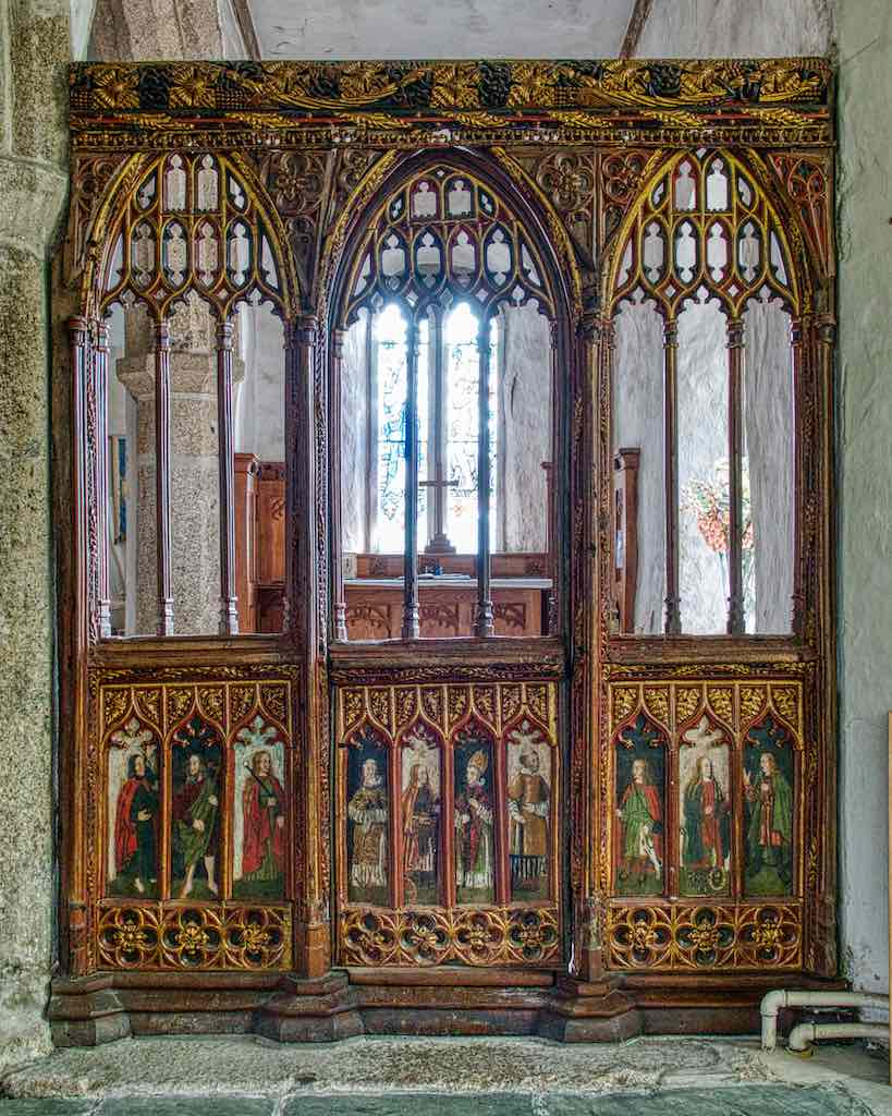 Such old beauty still wonderfully preserved, a glimpse into another world, the 16th century roodscreen.