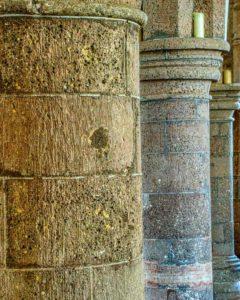 Pillar Medieval 14th Century Stone Stonework Uffculme