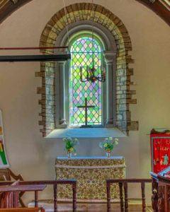 Sanctuary Altar East Window Loxbeare