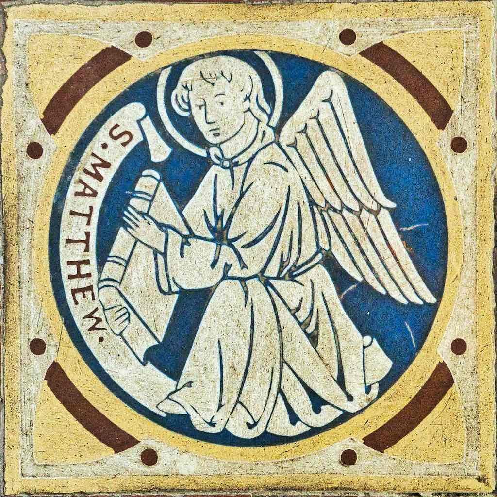 Tile Victorian St Matthew Loxbeare