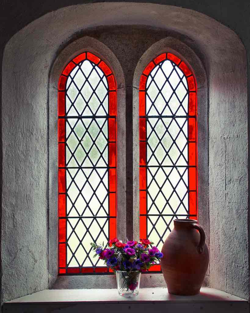 A little window of peace and divine light.