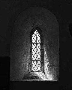 Window Interior Black And White Light Peace Bradstone