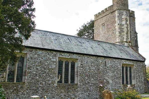 Church ExteriorEast Devon Medieval 15th Century Offwell