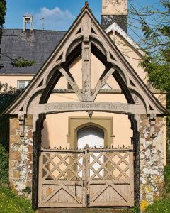 Church Gate Wood Arts And Crafts 20th Century Churchyard Little Torrington