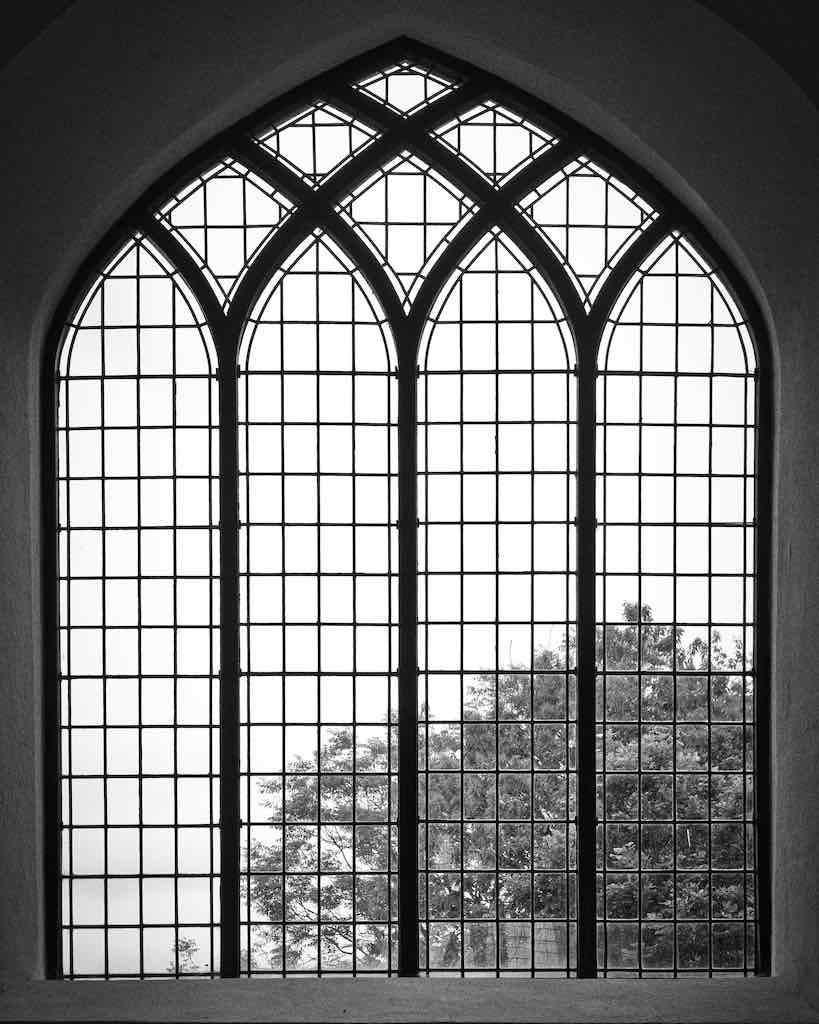 The stunning East Window, beautiful 18th century work.