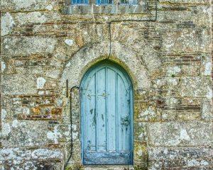 Door Doorway West Tower Stonework Granite 15th Century Medieval Thrushelton