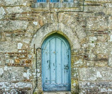 Door Doorway West Tower Stonework Granite 15th Century Medieval Thrushelton