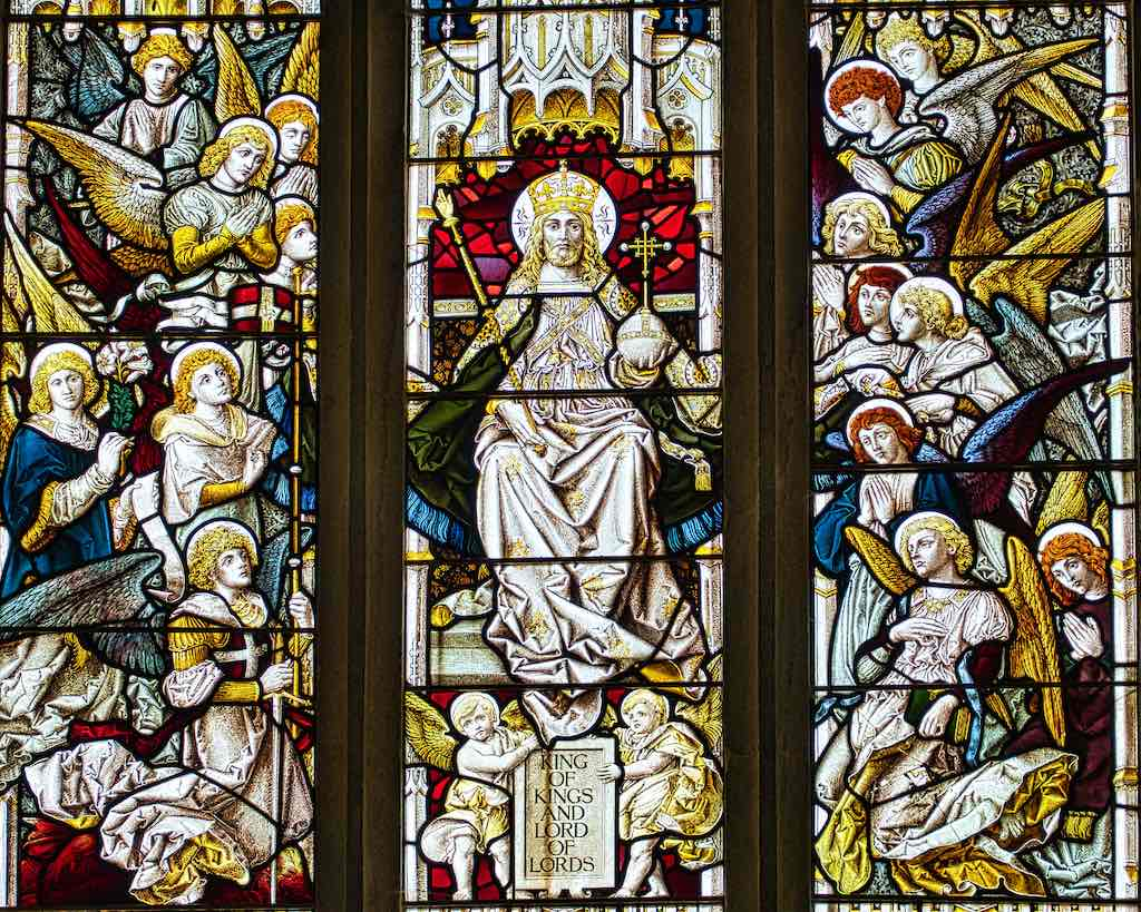 The Lord of Hosts in this beautiful stained glass window