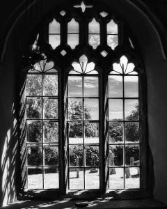 Window Church Interior Black And White Peace Light North Bovey