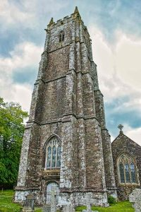 Church Exterior West Tower 15th Century Medieval Bishops Nympton
