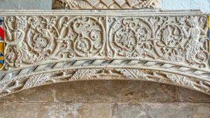 Limestone Stone Carving Plain Renaissance Mannerist Altar Tomb South Chapel Ermington