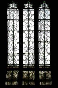 Window Interior Leading Spider Web Glass Light Peace Ermington