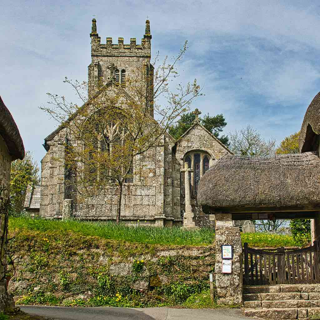 Throwleigh Church of St. Mary The Virgin, a classic Dartmoor church
