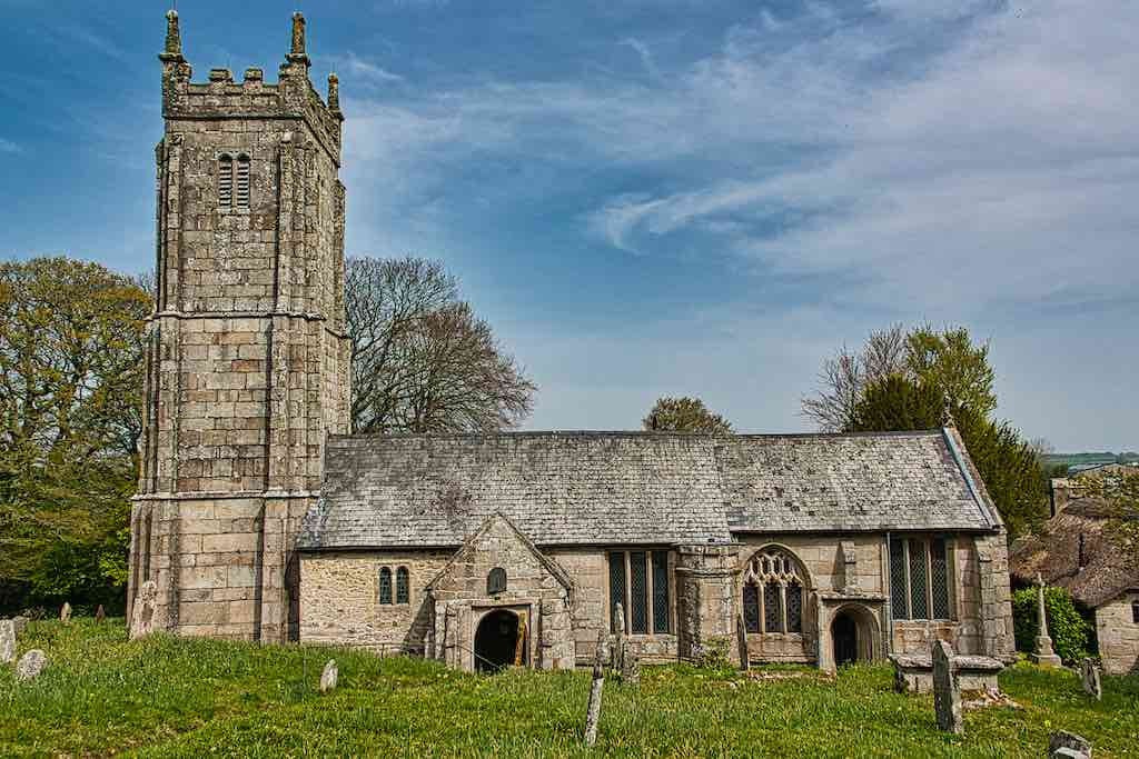 Gorgeous granite stonework, a tall tower, a pretty churchyard - Throwleigh so delivers.