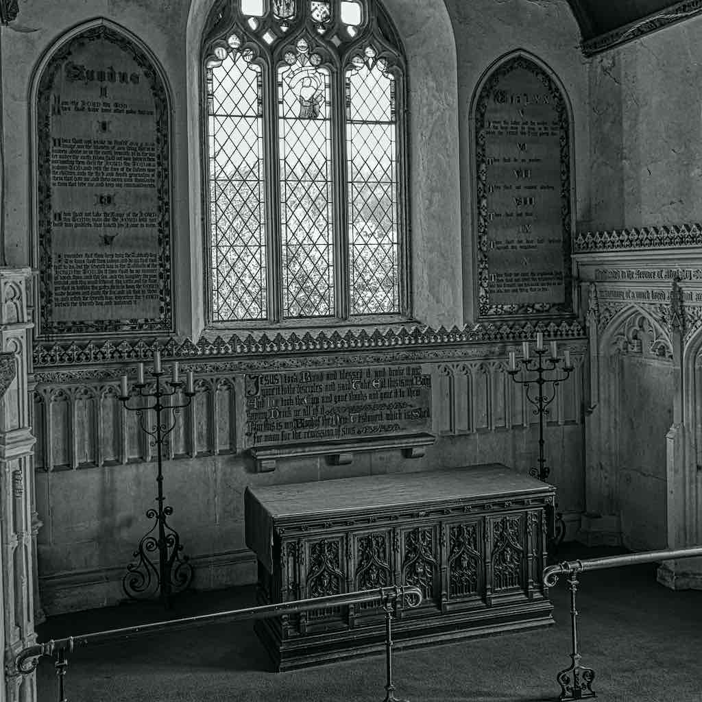 The fine Sanctuary of 1843.