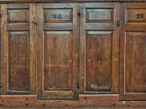 Box Pews Wood Oak Panelling 18th Century Gittisham