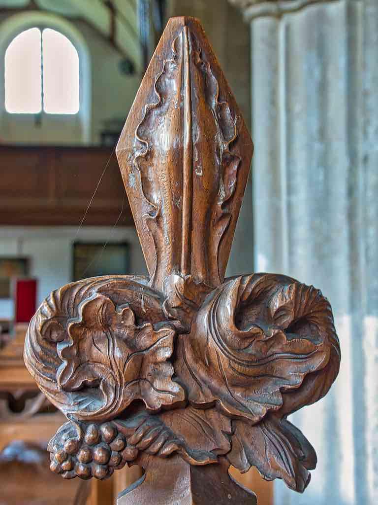 A beautiful Victorian 'poppy head'.